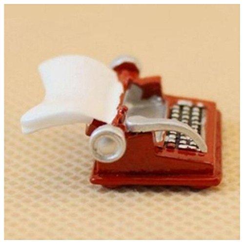Vintage Typewriter Dollhouse Miniature 1:12 Scale Fairy Doll Home Life Scene