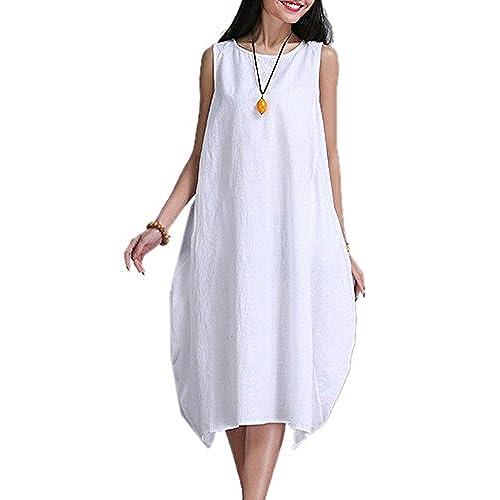 Plus Size Linen Dress Amazon