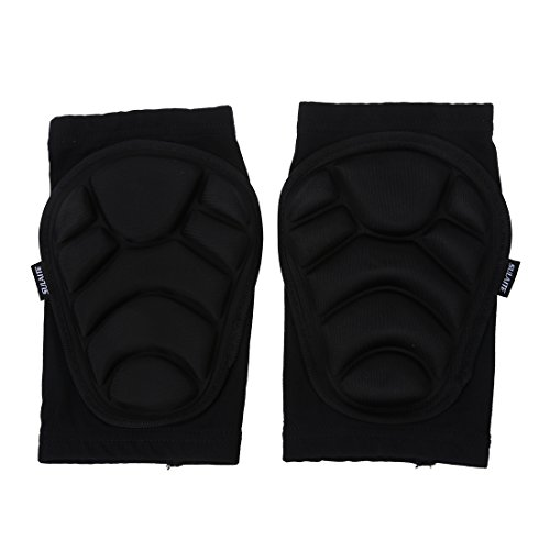 kneepad - TOOGOO(R)1 paire Genouilleres Rembourrees de Mousse Protecteur pour Sport Ski Volley-ball Basket-ball Patinage XS
