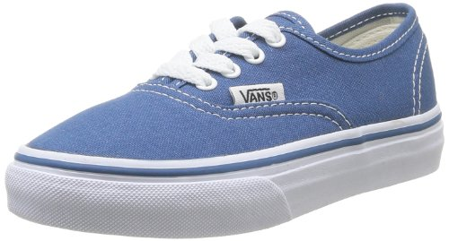 Vans Authentic, Zapatillas de Skateboarding Unisex Niños Azul (Navy)