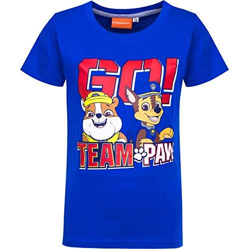 Paw Patrol T-shirt voor jongens, korte mouwen