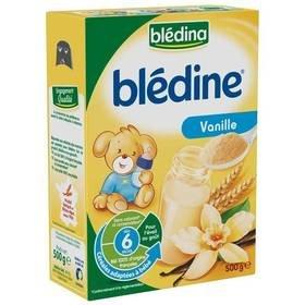 Blédina blédine céréales pour bébés saveur vanille 500g dès 6 mois