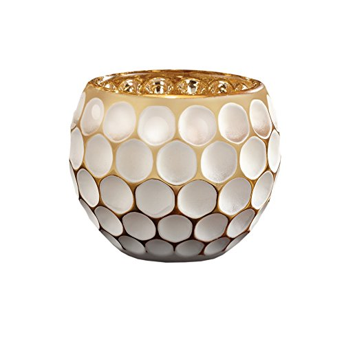 - Fifth Avenue Crystal Optic White & Gold Votive