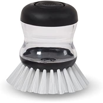Amazon Com Oxo Good Grips Palm Brush Storage Set Home