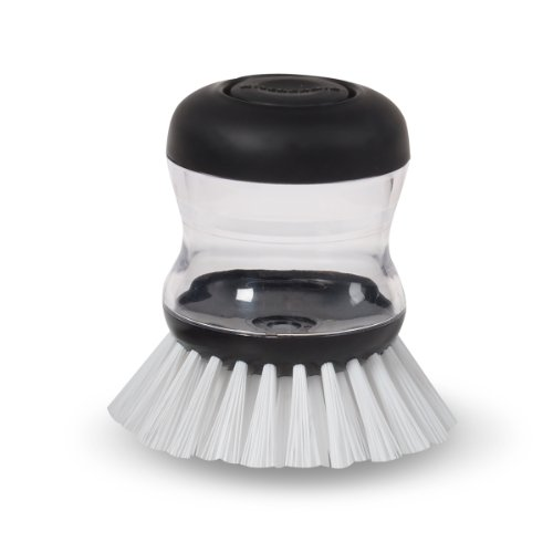 KitchenAid Soap Dispensing Brush Black product image