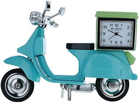 IDWD Blue Vespa - Patinete con Caja Verde, Reloj de ...