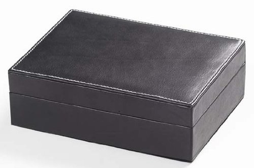 (Tuscan Small Rectangular Box in Black Customize: Yes)