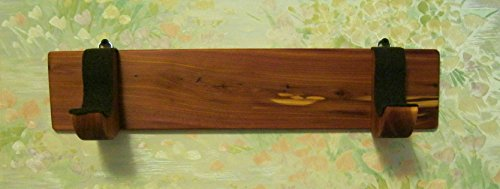 Native American Flute - Wall Rack - handmade from aromatic cedar - for holding and protecting your Flute