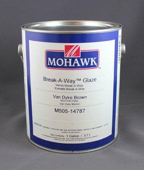 - Break-A-Way Glaze Burnt Umber