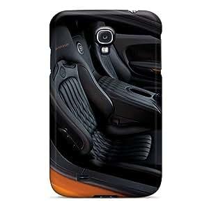 LatonyaSBlack Fashion Protective Car Interior Case Cover For Galaxy S4