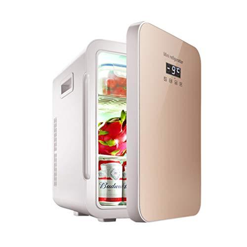 Gold Fridge - Outdoor Refrigerators Portable Refrigerator Insulin Refrigerator Portable 22L Household Medicine Refrigeration Car Refrigerator (Color : Gold, Size : 453429cm)