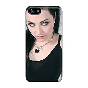 KevinCormack Iphone 5/5s Shockproof Cell-phone Hard Cover Allow Personal Design HD Evanescence Band Skin [zgF16087pvjE]