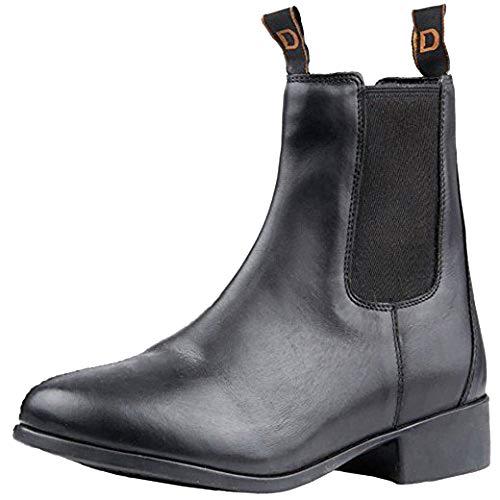 Dublin Childrens/Kids Elevation Jodhpur Boots (10 M US Toddler) (Black) by Dublin (Image #4)
