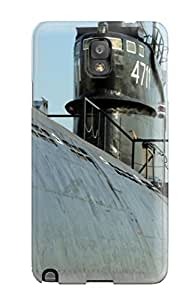 Fashionable Style Case Cover Skin For Galaxy Note 3- Submarine Military Man Made Military