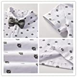 Toddler Boys Clothing Set Gentleman Outfit Bowtie