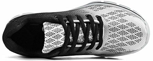 FiBisonic Männlische Sportlische Atmungsaktiv bequem Laufschuhe