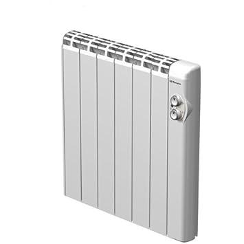 Orbegozo RRA1000 - Emisor térmico, 1000 W, 6 elementos, termostato, cuerpo aluminio