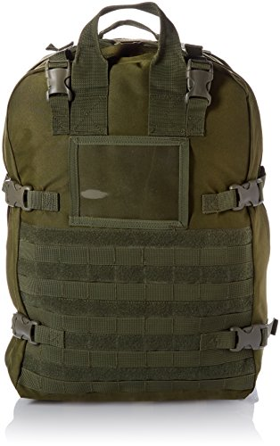 Stomp Medical Kit Fully Stocked First Aid Backpack, OD Green by Stomp Medical Kit