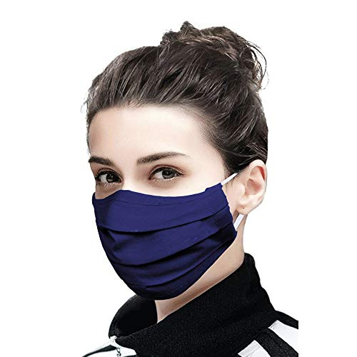LIFE by Shoppers Stop 2 Ply Protective Mask for Women Pack of 5 (Assorted, Free Size)