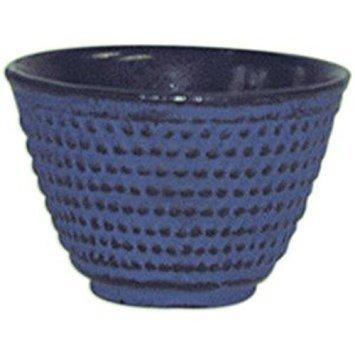 Blue Cast Iron Tea Cup, Set of 4