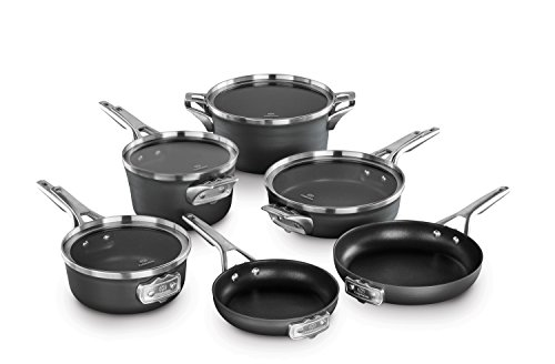 Calphalon Premier Space Saving Nonstick 10 Piece Set by Calphalon