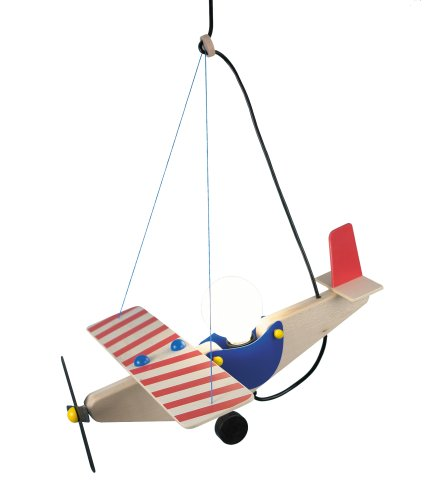 Niermann Standby Pendant Lamp, Wooden Plane by Niermann Standby