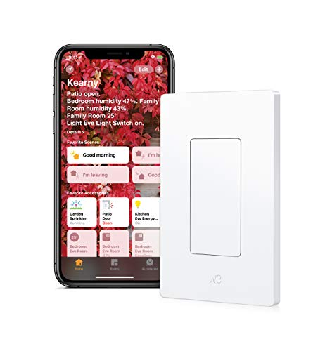 Eve Light Switch - Connected Wall Switch, easily