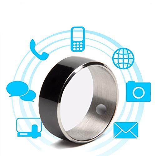 WTTHCC Anillo Multifunción NFC, Teléfono Móvil, Android, Apple, Universal, Anillo Inteligente, Bioterapia, Anillo, Tamaño...