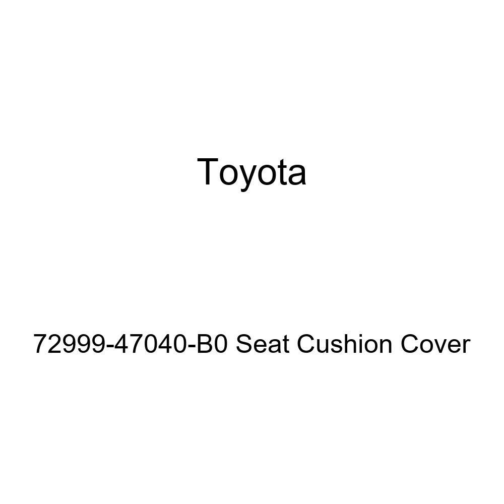 Toyota Genuine 72999-47040-B0 Seat Cushion Cover