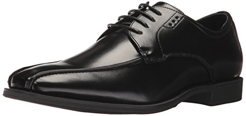 Stacy Adams Men's Logan Bike-Toe Lace-up Oxford Black discount how much affordable for sale discount footlocker visit sale online UiIUiD