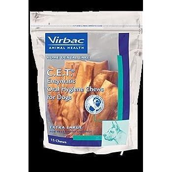 Amazon.com : C.E.T. Enzymatic Oral Hygiene Chews for Extra