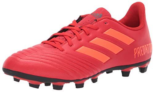 - adidas Men's Predator 19.4 Firm Ground, Active Solar red/Black, 6.5 M US