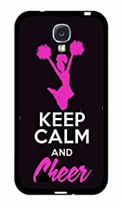 Keep Calm and Cheer - 2-Piece Dual Layer High Impact Phone Case Back Cover (Galaxy S4)