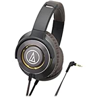 audio-technica Dynamic Closed-type Headphones (gunmetal) SOLID BASS ATH-WS770-GM