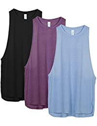 Yoga Tops Activewear Workout Clothes Sports Racerback Tank Tops for Women