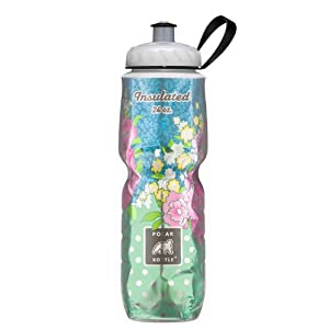 Polar Bottle Insulated Water Bottle (24-Ounce) (Secret Garden)