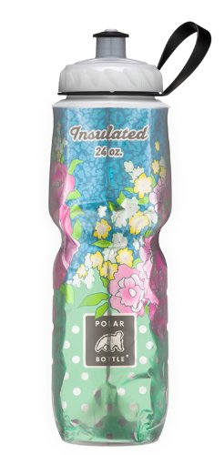 Polar Bottle Insulated Water Bottle (24-Ounce) (Secret Garden)