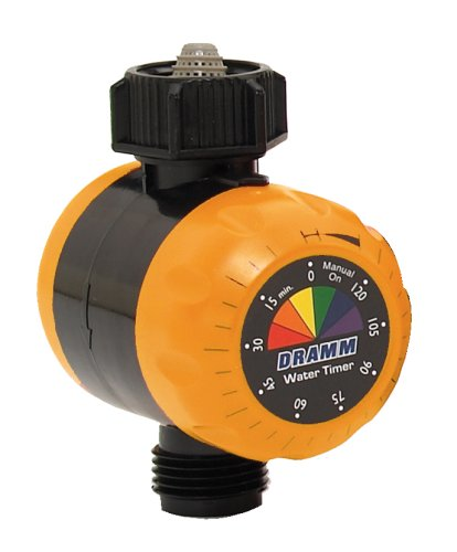 Dramm 15042 ColorStorm Premium Water Timer, Orange
