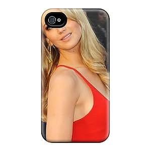 [ZzBORnB4036rTNcn]premium Phone Case For Iphone 4/4s/ Jennifer Lawrence Tpu Case Cover