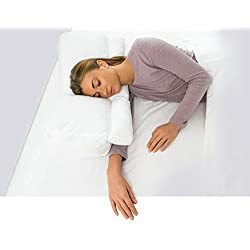 Better Sleep Pillow, White Goose Down - BSP-401-41 - with Tunnel for Sleeping with Arm Under the Pillow