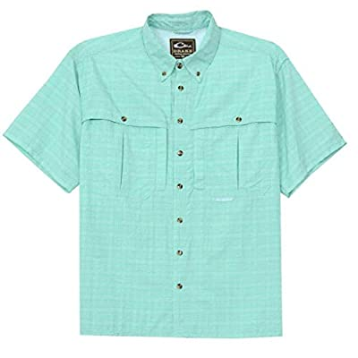 Wingshooter Sun S/S in Aqua by Drake