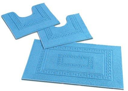 15 opinioni per Torino Set 3 tappeti bagno in spugna cm 60X90 + 2 Girowater cm 60x45 [PANNA]