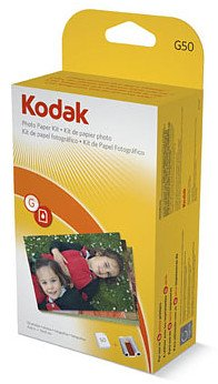 Kodak G-50 EasyShare Printer Dock Color Cartridge and Photo Paper Refill Kit, Office Central
