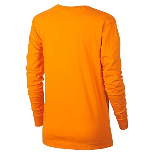 Femme orange Peel Orange Nike Swoosh shirt T white RHx8zRqA