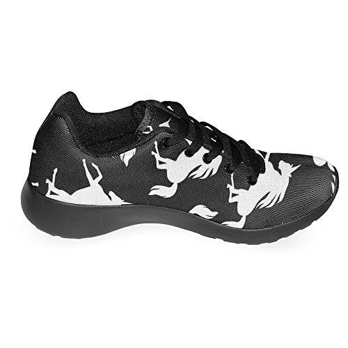Interestprint Kvinna Jogging Kör Sneaker Lättvikts Gå Gång Casual Komfort Sports Löparskor Unicorns Multi 1