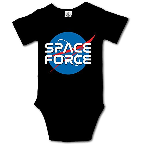 Pastcloud Baby Clothes Space Force Babies Boys Clothing Short Sleeves Onesie for Newborn -