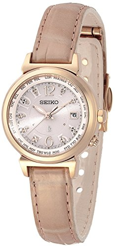 SEIKO WATCH watch LUKIA Rukia Lucky passport Solar radio Modify sapphire glass super clear coating for everyday life waterproof SSVV004 Ladies
