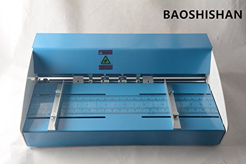 3in1 Electric creasing machine Creaser Scorer Perforator Workbench 18'' 460mm(110V/220V) (110V) by BAOSHISHAN