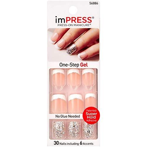 Kiss Impress Press-On Nails One Step Gel Rock It (3 Pack) by Kiss