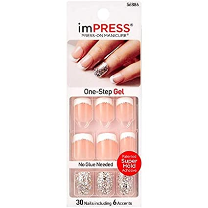 Broadway Impress, Uñas falsas - 24 de 1 uñas (Total 24 uñas)